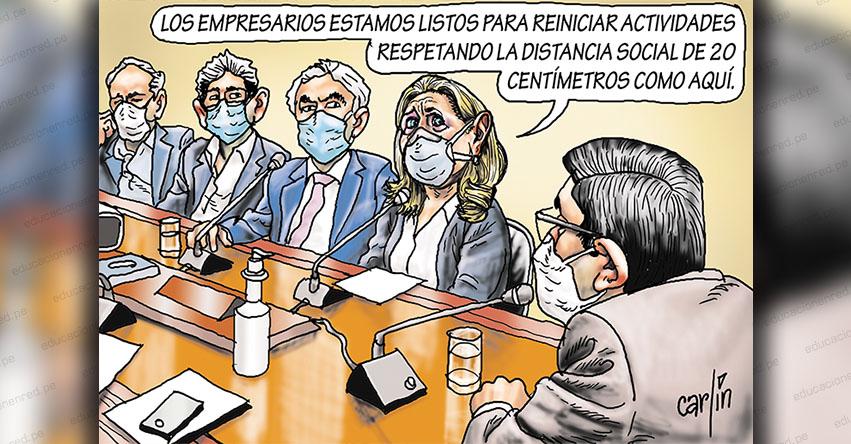 Carlincaturas Viernes 12 Junio 2020 - La República