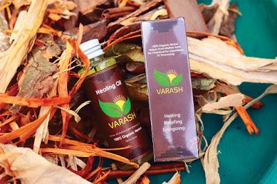 Minyak Varash Healing Oil (Minyak Alami Dari Rempah Asli)