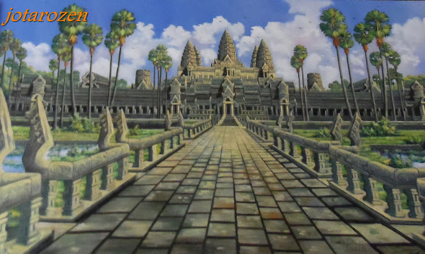 Footsteps - Jotaro' Travels Cambodian Art