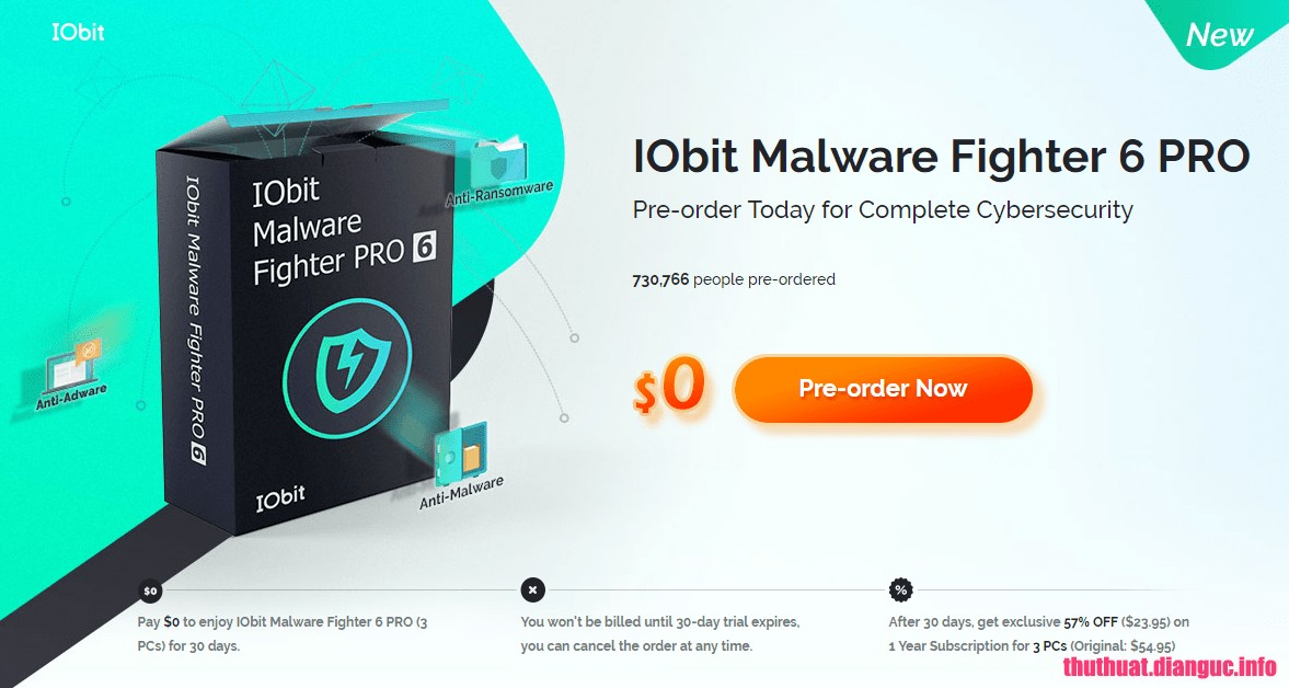 Download IObit Malware Fighter Pro 6.3.0.4841 Full Cr@ck