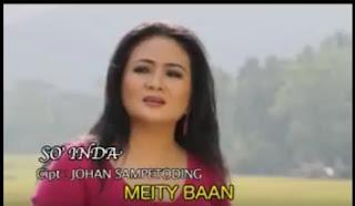 Download Lagu Toraja Meity Baan - So' Inda