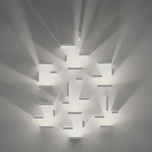ديكورات اضاءات جدارية