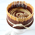 Das Wort zum Sonntag: Cremiger Zebra Schokoladen Käsekuchen