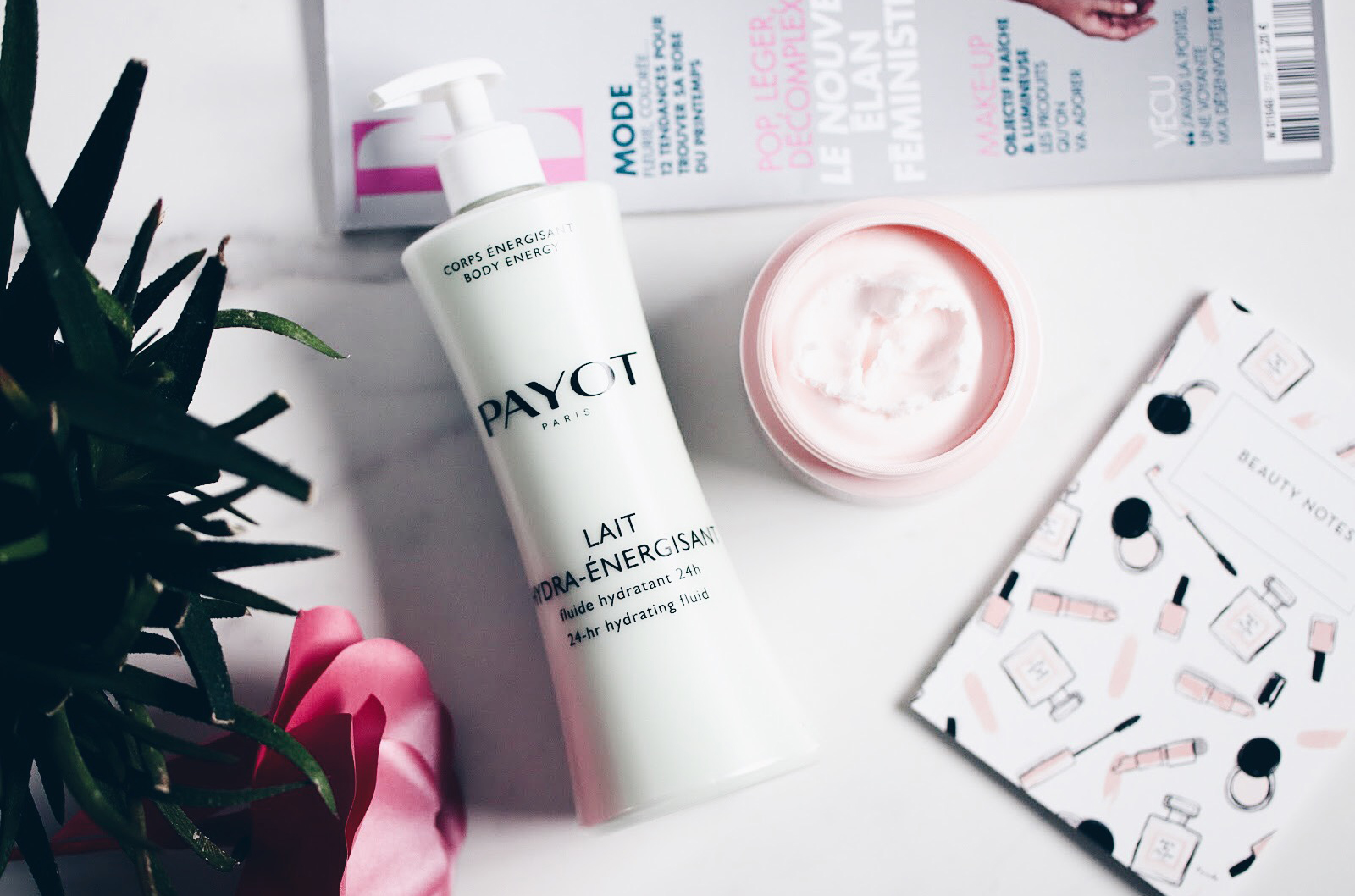 payot soins corps lait hydra energisant baume nutri relaxant avis test