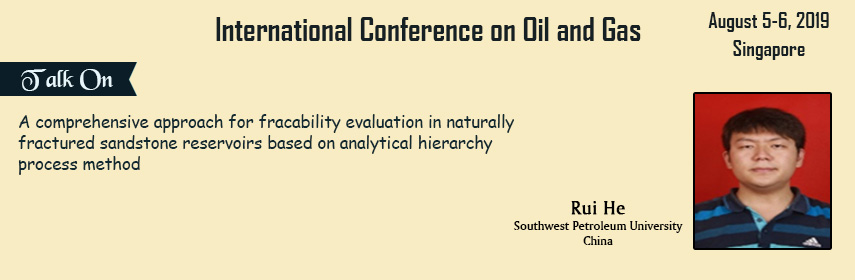 International conference on oil and gas singapore