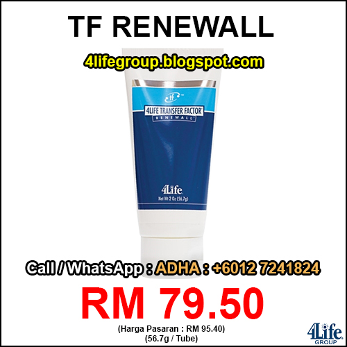 foto 4Life Transfer Factor Renewall