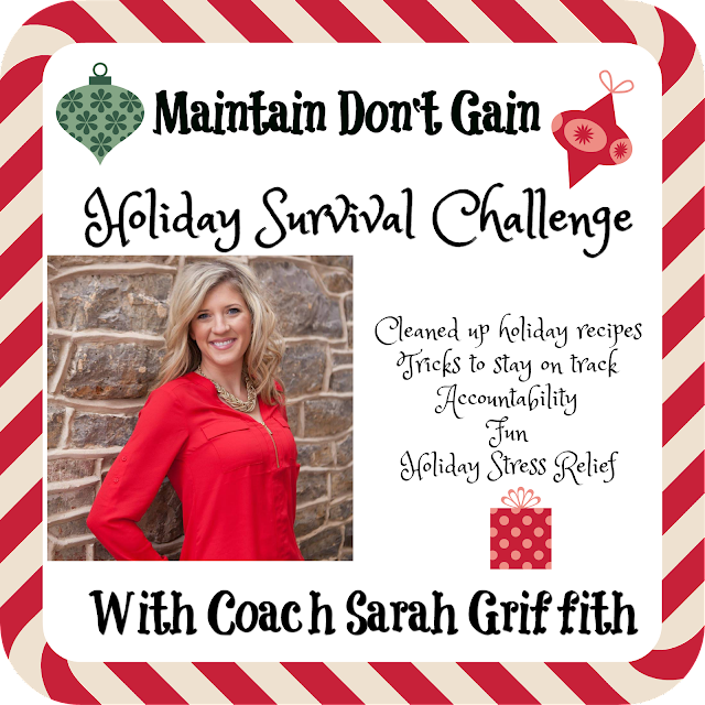 holiday weight loss, holiday survival, healthy holiday recipes, healthy holidays, sarah griffith, top beachbody coach, holiday stress relief,
