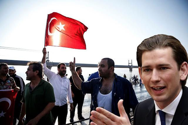 ΥΠΕΞ Αυστρίας: «Σε όποιον δεν αρέσει η Αυστρία να φύγει και να πάει στην Τουρκία»!