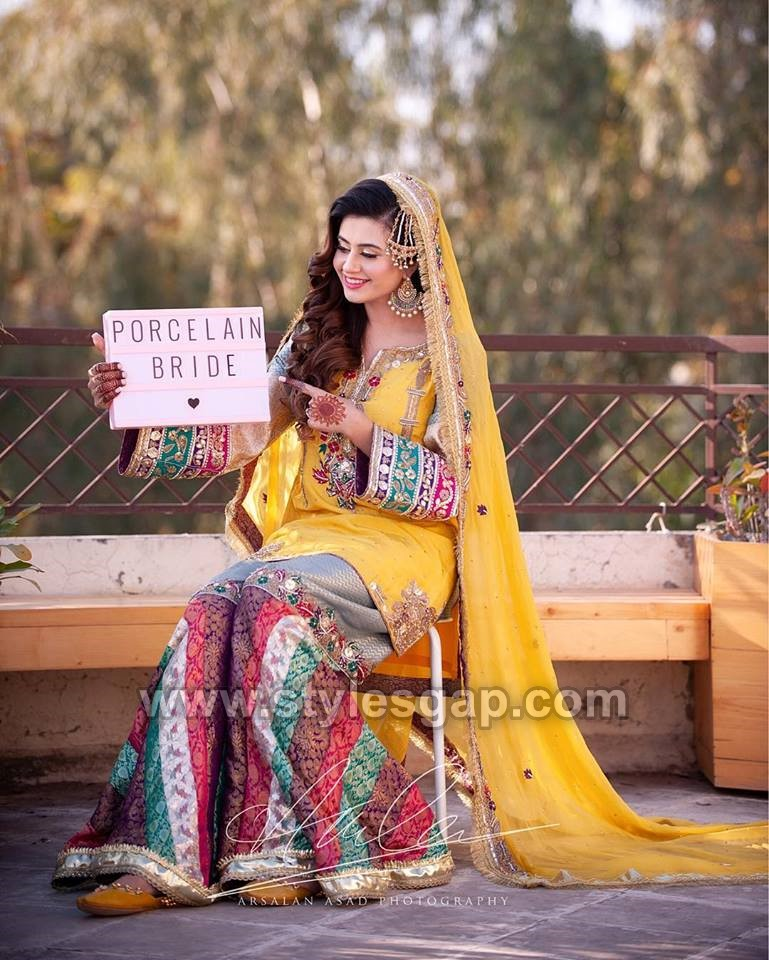 Bridal Outfits Review April 2019