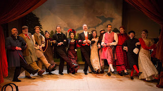 The Mystery of Edwin Drood, Tower Theatre Company at Teatro Technis, photography David Sprecher