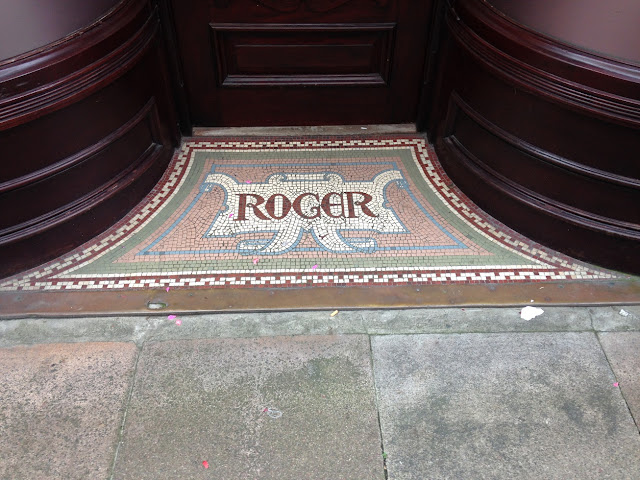 Doorway mosaic, St. Peter's Port, Guernsey