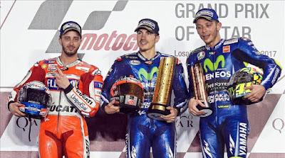 MOTO GP - Viñales debuta con Yamaha subiendo a lo alto del podio de Qatar