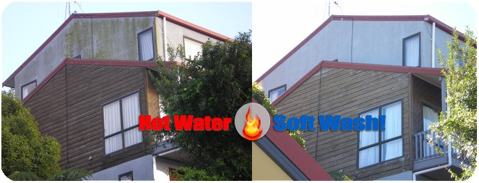 Power Washing Stucco & Removing Mold & Algae in New Hampshire