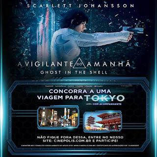 Promoção A Vigilante do Amanhã Ghost In The Shell