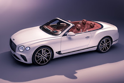Bentley Continental GT Convertible (2019) Front Side
