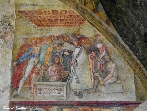 Lanciano, oratorio di San Legonziano. Affreschi