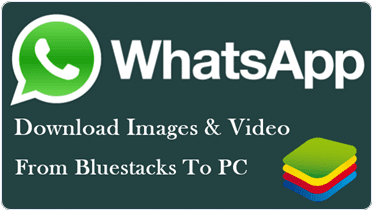 How To Download Whatsapp Images And Videos From Bluestacks To PC