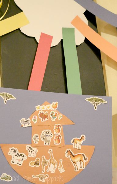 noah's ark preschool bible craft for kids