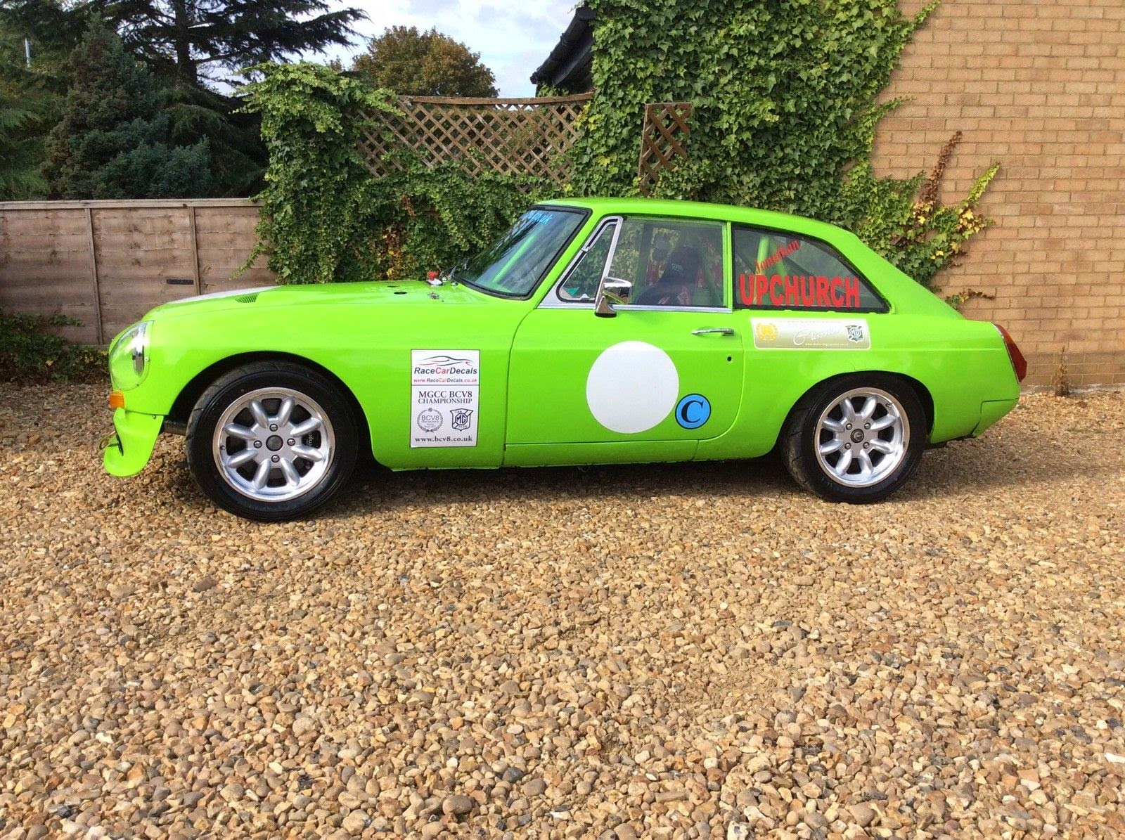 1975 MG MGB GT V8 Race Car   Auto Restorationice