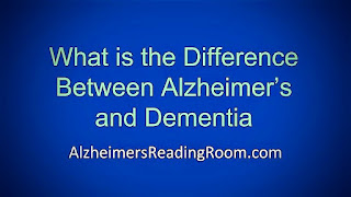 """""""What is The Difference Between Alzheimer's and Dementia"""""""