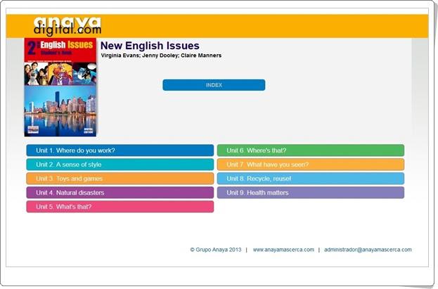 """Anaya Digital: """"Inglés de 2º de E.S.O."""""""