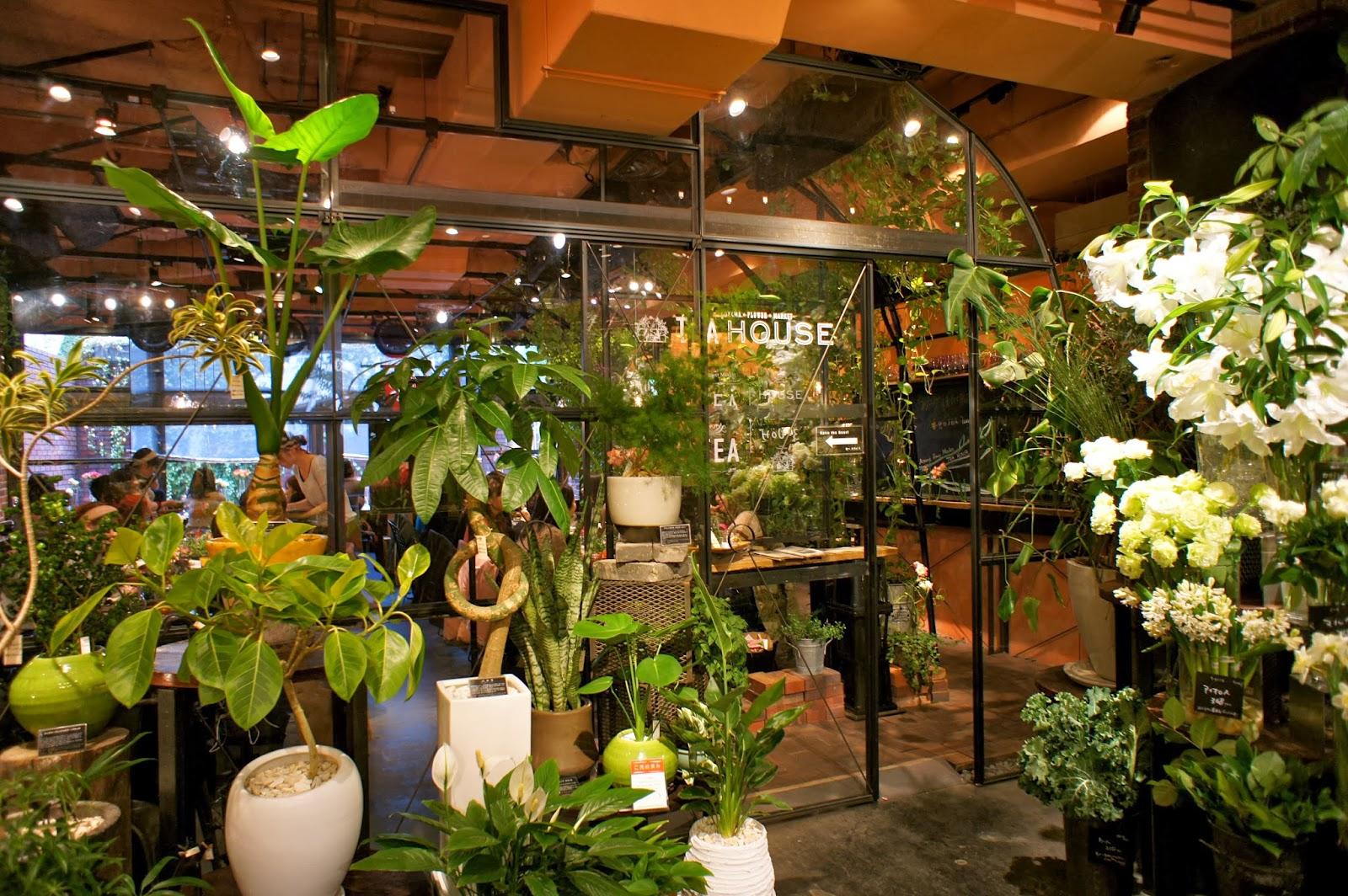 Tokyo Cafes: Aoyama Flower Market Tea House - Vikingess Voyages