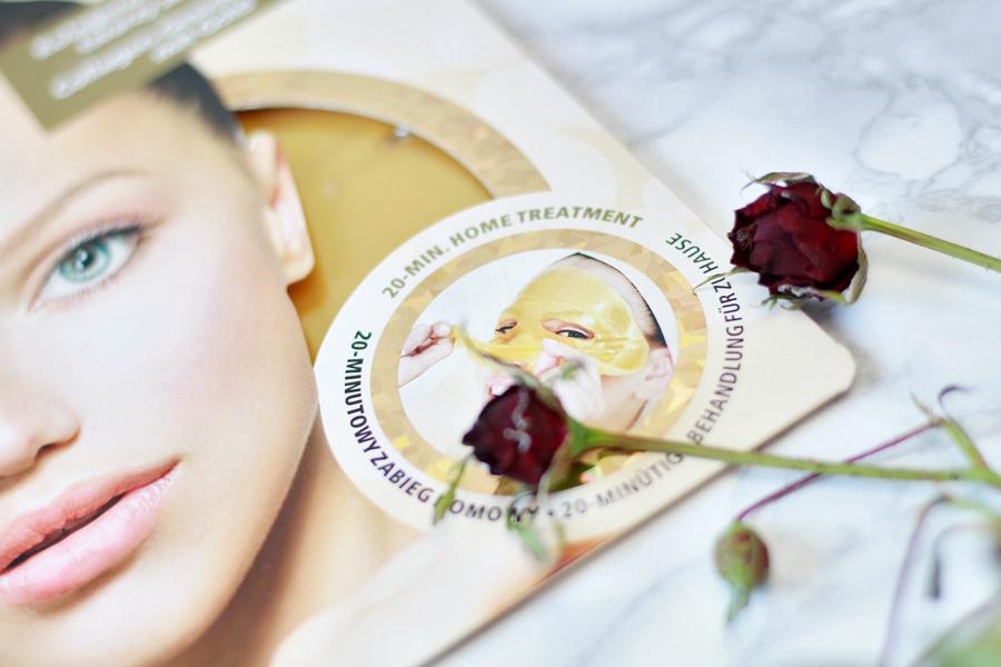Kolagenowa maska do twarzy ze złotem | GlySkinCare
