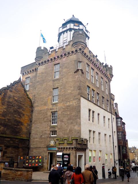 Camera Obscura, Castlehill, Royal Mile, Edinburgh