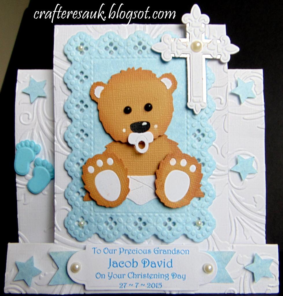 Baby Bear Centre Step Card