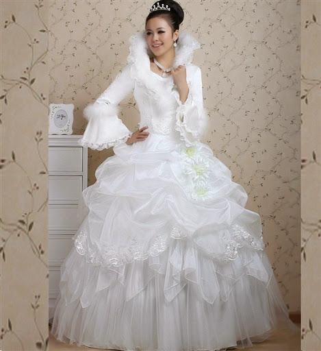 Contoh iBajui Gaun Pengantin Model Barbie yang Mewah dan