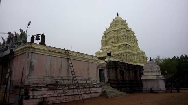 Sri Swarnapureeswarar Temple Vimanam