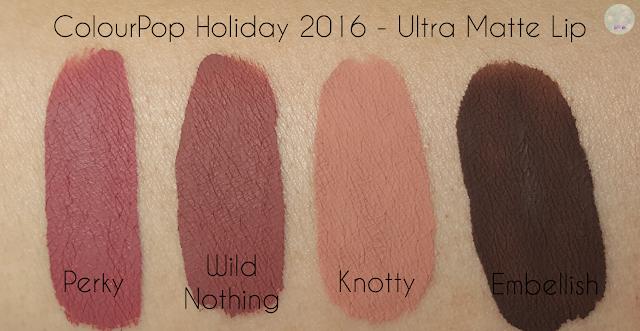 ColourPop Holiday 2016 - Ultra Matte Lip | Kat Stays Polished