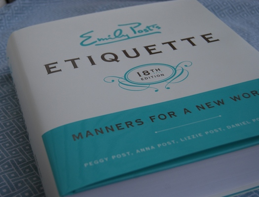 Emily Post Wedding Gift Etiquette: Dalai Mama: The Subtle Way Of Being Bitchy: Emily Post Style