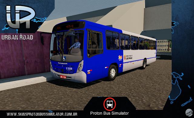 Skin Proton Bus Simulator - Mega2006 mb OF-1722M Sambaíba