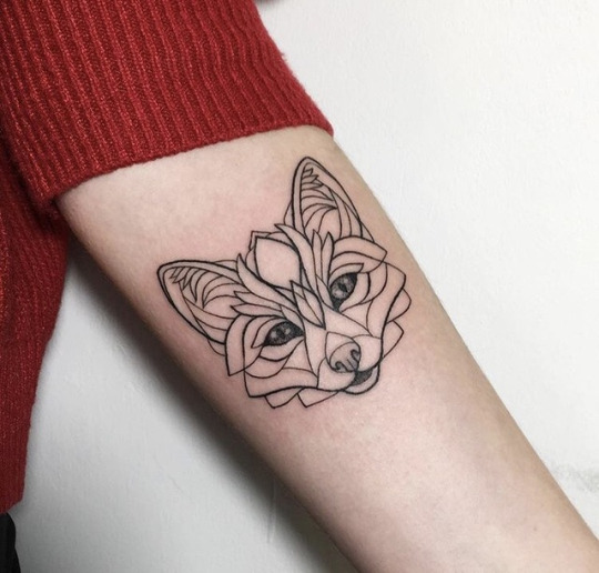 Stunning Fox Tattoos For Women