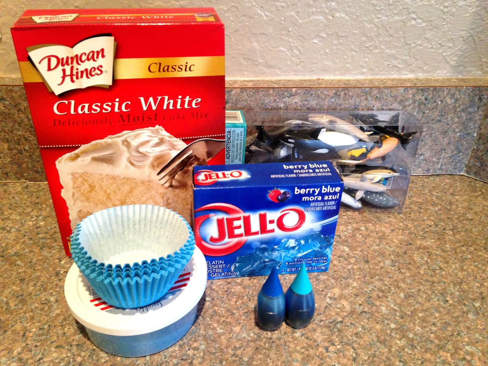 Pillsbury Blue Raspberry Cake Mix