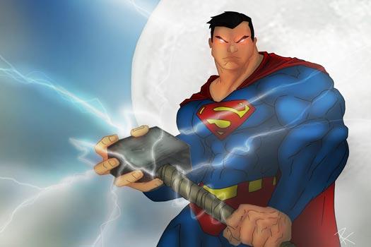 8 Tokoh Superhero yang Bisa Mengangkat Palu Thor