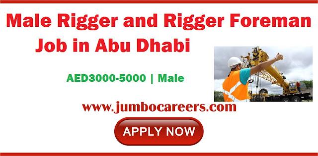 Rigger and Rigger Foreman Job
