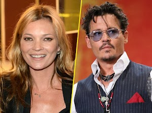 Kate Moss and Johnny Depp : all press inquires about their relationships.
