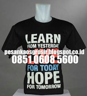Vendor Kaos Sablon Plastisol Murah di Malang