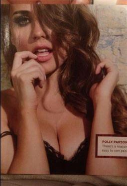 ROMA Polly Parsons la sexy moglie di VERMAELEN