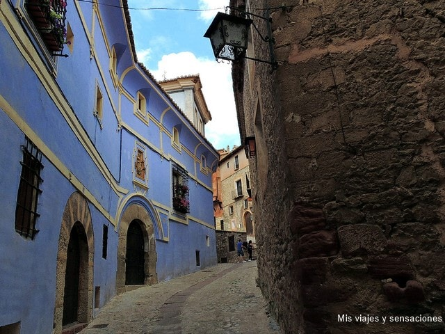 Casa Azul o Casa Arzuriaga, Albarracín, Teruel