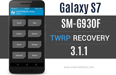 twrp recovery for galaxy s7 sm-g930f