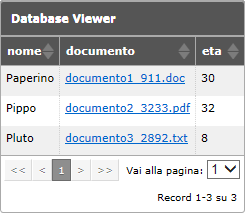 oggetto database viewer website x5