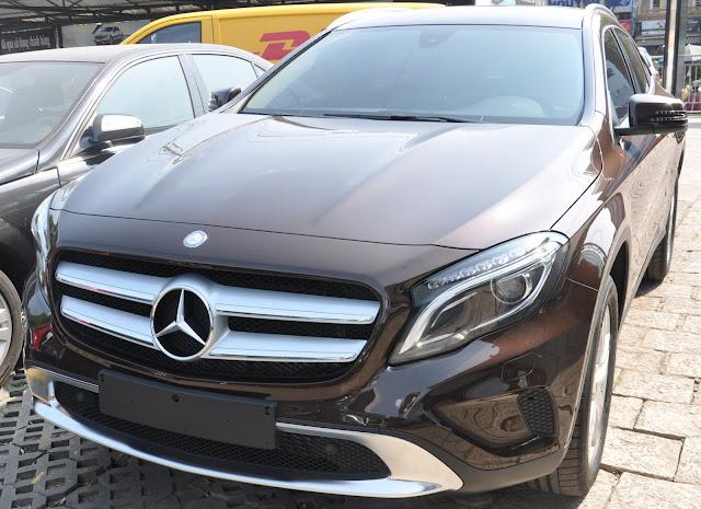 Mercedes GLA 200 nằm trong phân khúc SUV nhỏ gọn