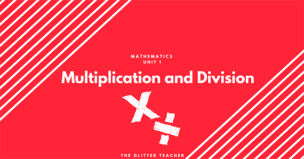 Multiplication and division. Year six
