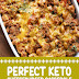 Perfect Keto Cheeseburger Casserole #ketorecipes #cheeseburger