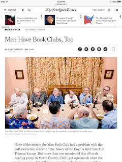 Man Book Club article New York Times