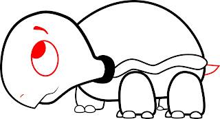 How To Draw A Cartoon Turtle Step 5