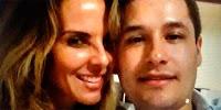 Kate del Castillo junto a hijo del Chapo'